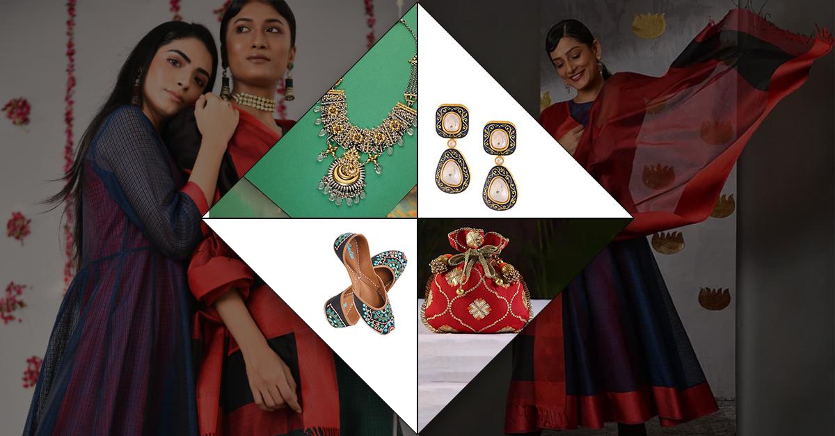 Jaypore Presents Nine Yards of Grace – Maheshwari Silk from Malwa
