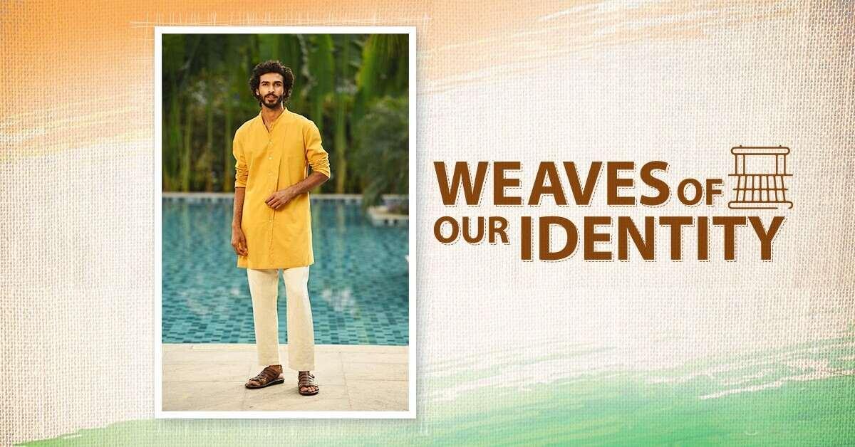 Celebrate National Handloom Day with Jaypore's Handspun Handloom Menswear
